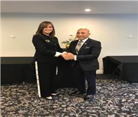 وزيرة الهجرة تلتقي وزير الدفاع وعمدة مدينة كرايستشيرش النيوزيلنديين