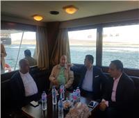 لجنة الصناعة بمجلس النواب تتفقد مشروعات قناة السويس