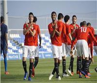 منتخب مصر الأولمبي يهزم أمريكا بهدفين نظيفين وديًا