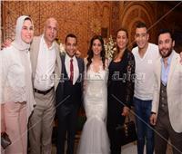 صور| نجوم الكرة المصرية في عقد قران ابنة أحمد سليمان