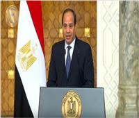 بدء مباحثات السيسي ورئيس وزراء العراق في قصر الاتحادية