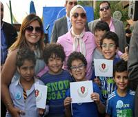 وزيرة البيئة تشارك في حملة «شباب للنيل».. ورفع 11 طن من المخلفات