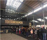 5 آلاف زائر في افتتاح معرض توت عنخ ٱمون بباريس