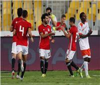 انطلاق الشوط الثاني لمباراة النيجر ومصر