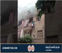 أول صور لبطل حريق الزاوية الحمراء.. أنقذ 3 أشخاص بـ«ماسورة»