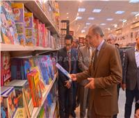 محافظ أسيوط يفتتح معرض «عصير الكتب» بقصر ثقافة أسيوط