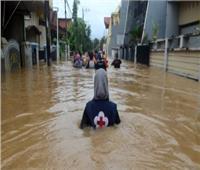 شاهد..مقتل شخصان وغرق 270 قرية فى إيران بسبب الأمطار