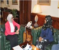 وزيرة الصحة توقع بروتوكول تعاون مع نظيرتها الصومالية