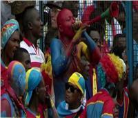مشجع زملكاوي في لقاء الكونغو و ليبيريا