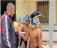 اشتعال المنافسة بين الأندية المشاركة في بطولة الجمهورية لسباحة الزعانف