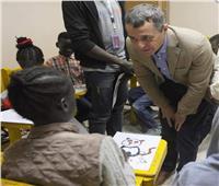 وزير خارجية سويسرا يزور منظمة متخصصة في خدمة اللاجئين بمصر
