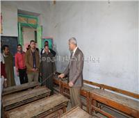 محافظ المنوفية يتفقد قريتي إسطنها ومنشية مسجد الخضري بالباجور