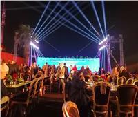 صور| السياحة تنظم حفل عشاء لوزراء السياحة العرب بقلعة صلاح الدين