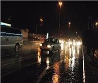 أمطار رعدية غزيرة على مناطق شمال سيناء