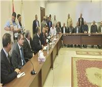 وزير الزراعة ومحافظ بني سويف يعقدان لقاءًا مفتوحًا مع القيادات الشعبية