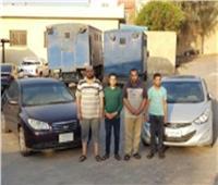 الأمن العام يضبط تشكيل عصابى لسرقة السيارات بالإكراه فى بنى سويف