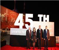 «السياحة العالمية» تهدي الرئيس السيسي درع المنظمة تقديرا لدعمه للقطاع