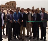 صور| رئيس الوكالة الأمريكية للتنمية الدولية يشهد الاحتفال بمشروع معبد كوم أمبو