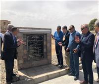 العناني يعلن افتتاح مشروع تخفيض منسوب المياه الجوفية بمعبد كوم امبو