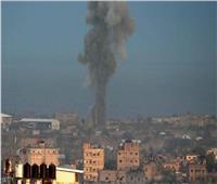 جيش الاحتلال يعلن توجيه ضربات في قطاع غزة
