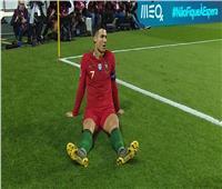 بالفيديو| إصابة رونالدو تحرمه من استكمال مباراة البرتغال ضد صربيا