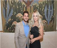 صور  شاهد الظهور الأول لمحمد رشاد ومي حلمي بعد زواجهما