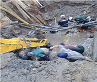 بسبب كسر في الخط الرئيسي .. قطع المياه عن مدينة دمنهور