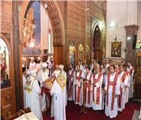 البابا تواضروس يصلي قداس عيد الشهيد سيدهم بشاي بكنيسته في دمياط