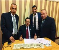 ضبط 90 ألف دولار مع راكب كيني بمطار القاهرة