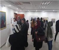 افتتاح المجموعة الثالثة للمعارض الطوافة بالمركز الثقافي بطنطا