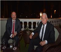 رئيس جامعة طنطا يستقبل محافظ جنوب سيناء