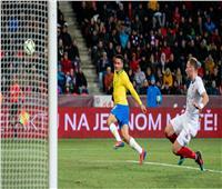 """""""جابرييل جيسوس"""" يقود البرازيل لفوز رائع على التشيك"""