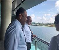 عبد العاطي يبحث التعاون مع سنغافورة إعادة استخدام مياه الصرف