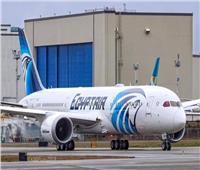 ترصد صحة الركاب خلال رحلاتها  «طائرة الأحلام» تصل القاهرة