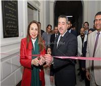 صور| افتتاح أعمال تطوير مكتب شهر عقاري جنوب القاهرة
