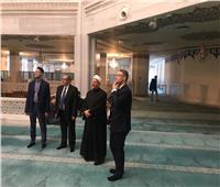 صور| نشاط مكثف لمفتي الجمهورية في بداية جولته بموسكو