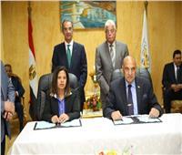 وزير الاتصالات وخالد فودة يوقعان اتفاقية لتطوير الخدمات بجنوب سيناء