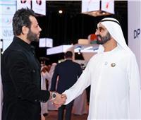 صور| نيشان بصحبة حاكم دبي على هامش منتدى الإعلام العربي