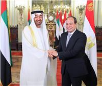 إنفوجراف| مصر والإمارات.. 16 زيارة متبادلة تؤكد العلاقات الراسخة بين البلدين