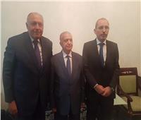 لقاءات لشكري مع وزراء خارجية الأردن والعراق والسعودية