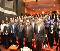 سعفان ومحافظ بورسعيد  يشهدان افتتاح مؤتمر دولي بمشاركة ٣ دول عربية