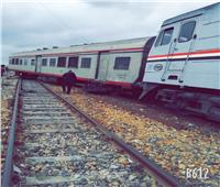 خروج «قطار الإسماعيلية - بورسعيد» عن مساره