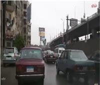 فيديو  شلل مروري في نفق غمرة بسبب الأمطار