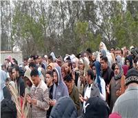 الآلاف يشيعون جثمان شهيد سيناء بقرية «سرابيوم» بالإسماعيلية