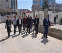 وزير الخارجية يتفقد المبنى الجديد للسفارة المصرية بتونس