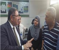صور| السفير حازم رمضان يتفقد امتحانات المصريين في جدة