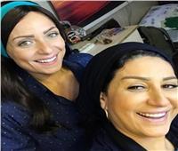 فيديو  وفاء عامر وريم البارودى.. ضحك متواصل
