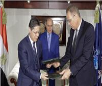 مميش يشهد توقيع استلام المرحلة الجديدة من منطقة تيدا الصينية