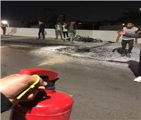إصابة 3 في حريق بمستشفى جامعة قناة السويس