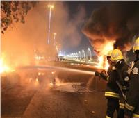 إخلاء 700 معتمر بعد اندلاع حريق في مكة المكرمة